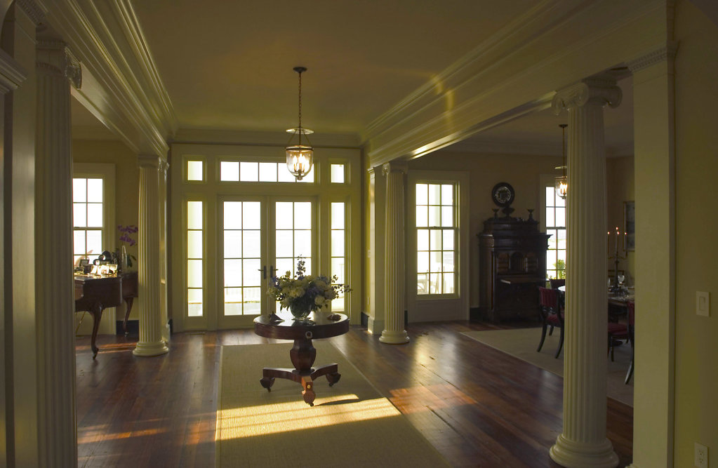 The Foyer of Chadsworth Cottage