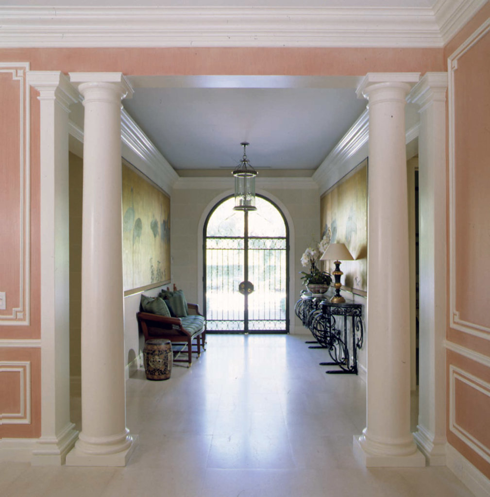 Doric Columns in Foyer