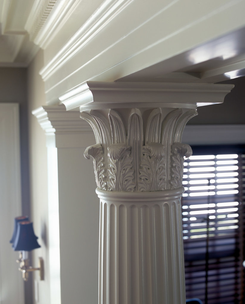 A Corinthian Capital in Chadsworth Cottage