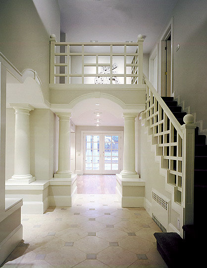 Tuscan Columns in Foyer
